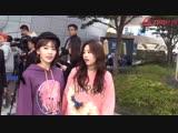 181018 IZONE Miyawaki Sakura &amp Kim Minju at HERA SEOUL FASHION WEEK 2019 SS
