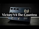 Victory V4 The Countess Pedal Preamp Full Demo With Rabea Massaad Martin Kidd