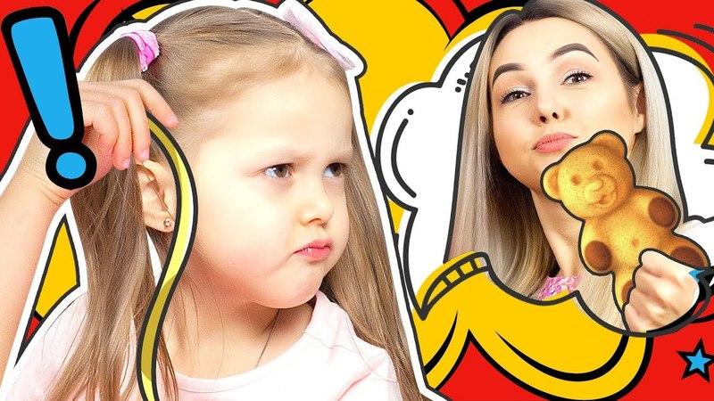 МАЛЫШ ищет ВОРА! Кто украл вкусняшки Амельки? Мама и Папа под подозрением! Видео для детей!