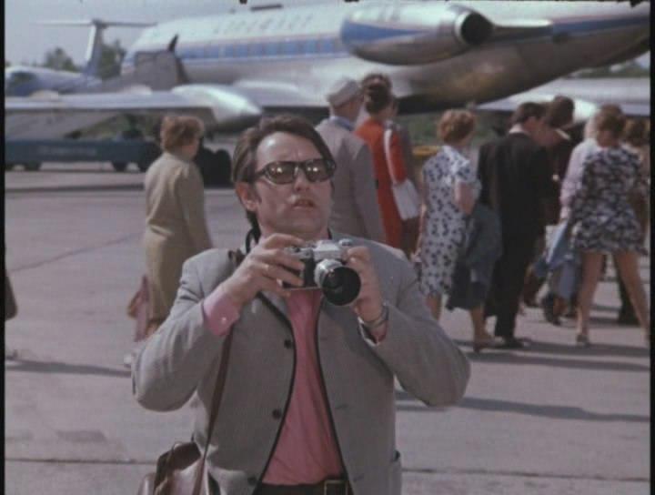 """""""Шаг навстречу """" (1975) В фильме удивительным образом присутствуют самолёты практически всех цветовых схем Аэрофлота."""