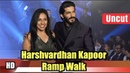 Harshvardhan Kapoor Ramp Walk At Exhibit Tech Fashion 2018
