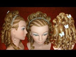 Peinado; XV años, Boda,1ra.Comunión♥ /Hairstyle: Wedding or graduation♥