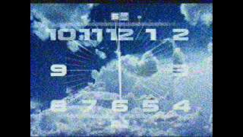 Часы и заставка Вечерних новостей (Первый канал, 29.08.2013)