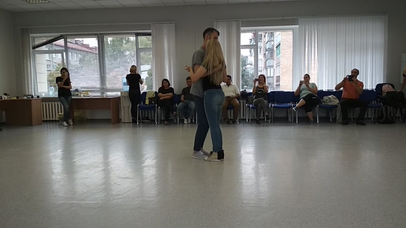 Александра Сирото и Артем Левин МК Курск 2-й день