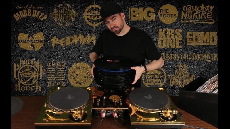 DJ FLY - The Golden Hip Hop Mix (Full Vinyl Set)