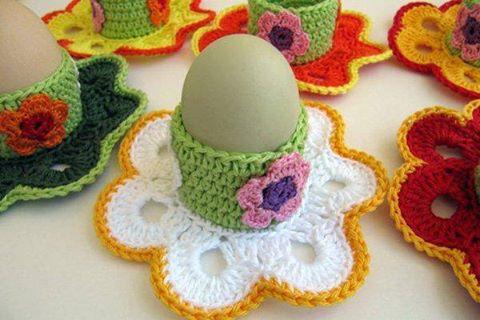 Подставка для яиц крючком: как связать + описание