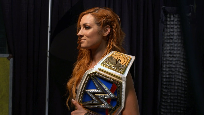 Becky Lynch poses for her SmackDown Women's Title photoshoot: WWE Exclusive, Sept. 16, 2018