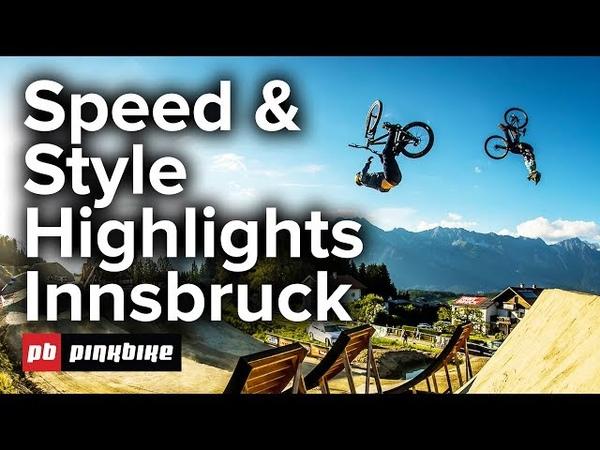 Mons Royale Dual Speed Style Crankworx Innsbruck   FULL Highlights