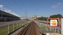 London DLR Front View Ride Beckton to Tower Gateway