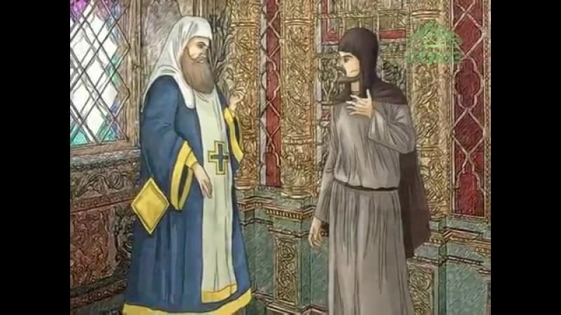 Преподобный Варлаам Серпуховской (Мульткалендарь)