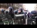 Вальс ″На сопках Манчжурии″ на улицах протестующего Парижа