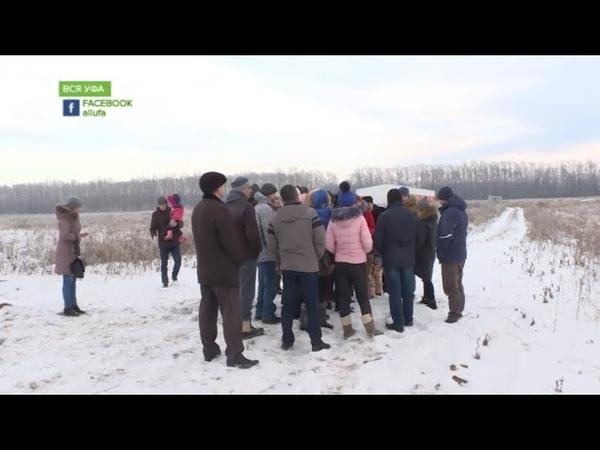 Жители сразу трех поселков всерьез обеспокоены тем, что рядом с ними собираются построить кладбище