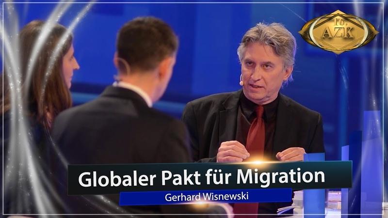 16. AZK: Bühnen-Interview mit Gerhard Wisnewski zum Thema Globaler Pakt für Migration