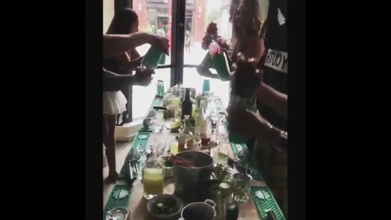 [Juliana Harkavy Twitter] Casamigos party