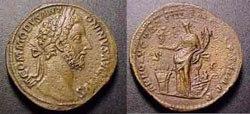 Древнеримские женщины-богини, монеты, Аннона