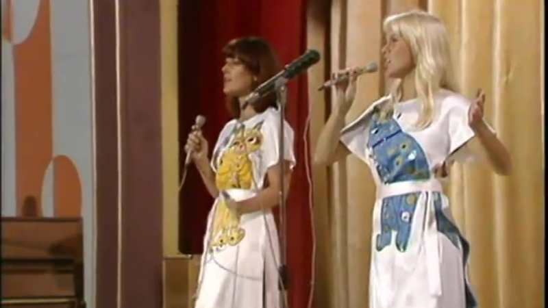 ABBA S O S live in USSR 1975 HD p60