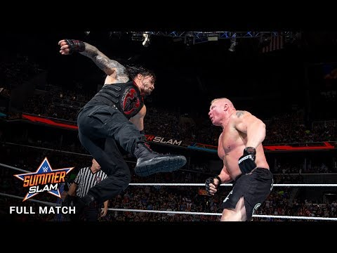 FULL MATCH - Lesnar vs. Reigns vs. Joe vs. Strowman - Universal Title Fatal 4-Way - SummerSlam 2017