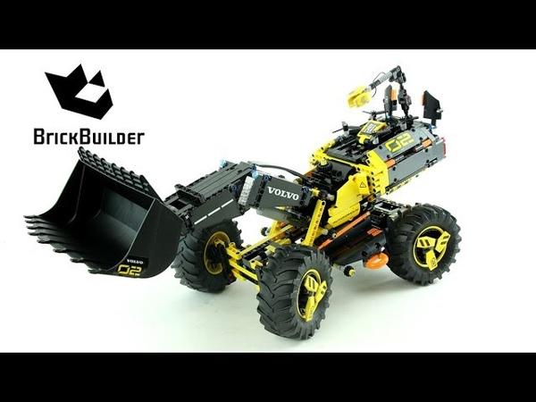 Lego Technic 42081 Volvo Concept Wheel Loader ZEUX - Lego Speed Build