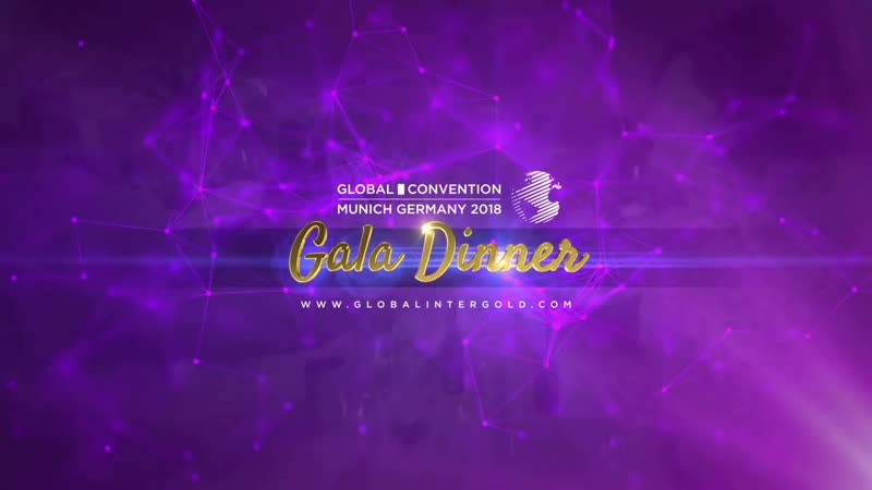 The VIP party at the Global Convention 2018 – Leaders Gala Dinner.