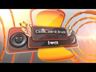заставка клуба Galaktika для плазм. без звука