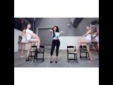 Nicki minaj teach models the Anaconda
