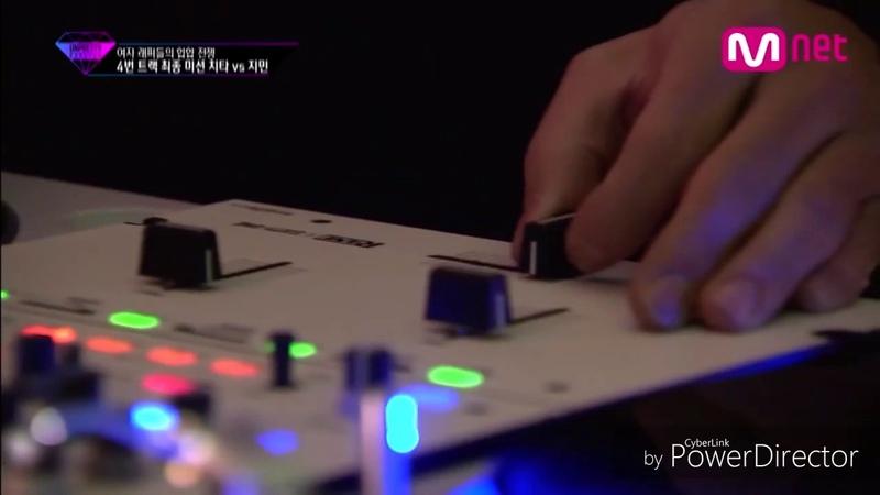 [RUS.SUB][ Unpretty Rapstar ] ep.6 Cheetah vs Jimin