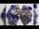 Como fazer esse lindo laço florido encantado / How to make a ribbon bow - DIY