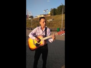 музыкант набережная Ижевского пруда 2