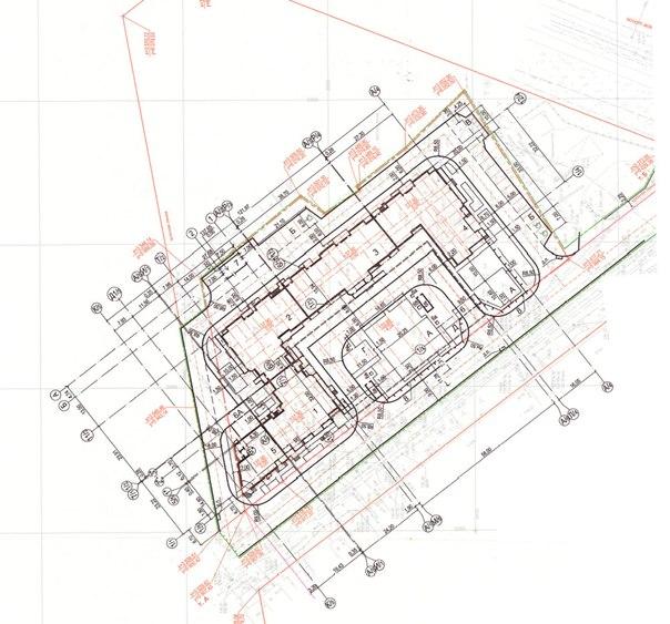 Схема расположения мест в