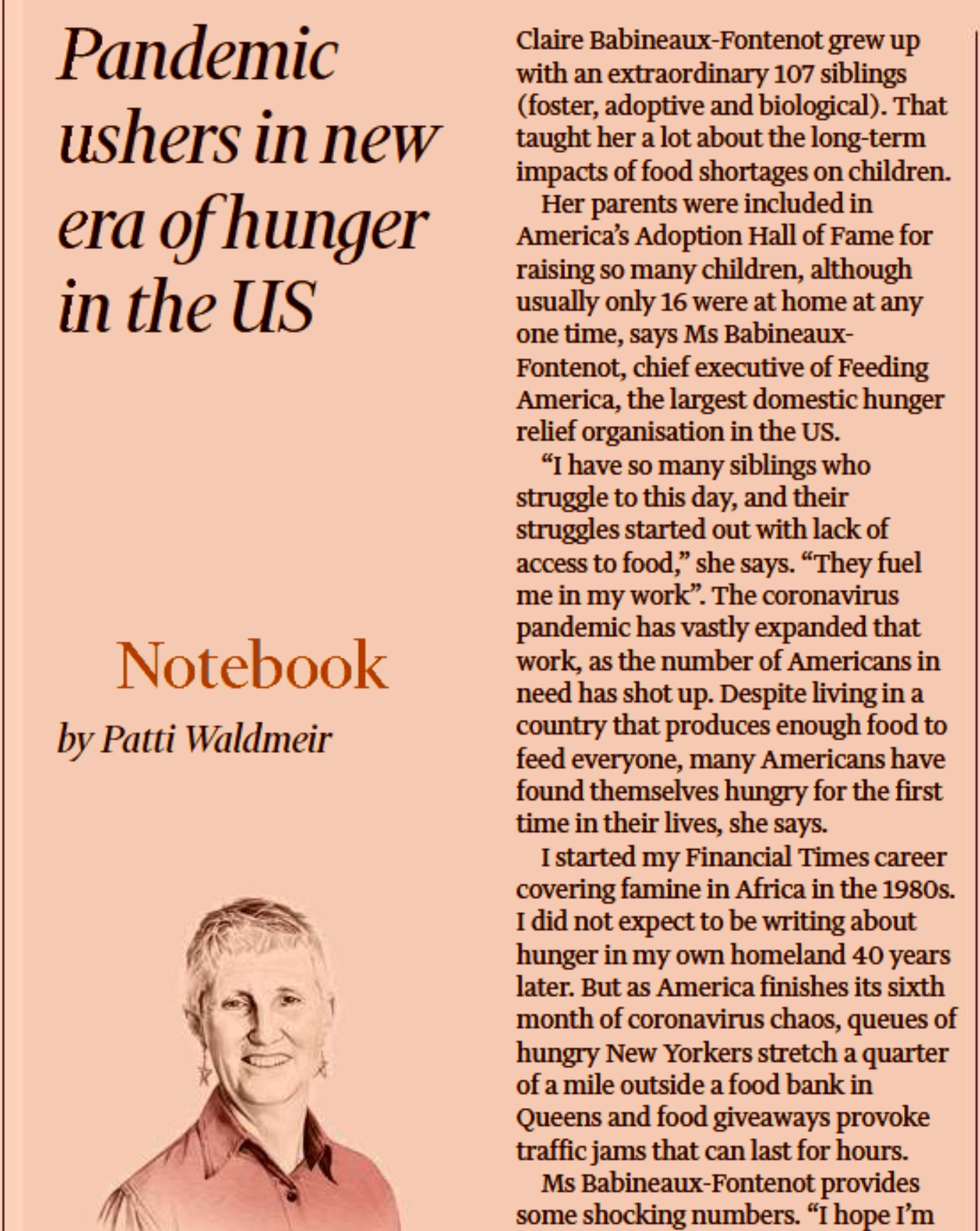 Financial Times hlad v USA, pokec24
