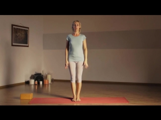 Iyengar Yoga. Йога Айенгара. Видео уроки. Позы стоя.