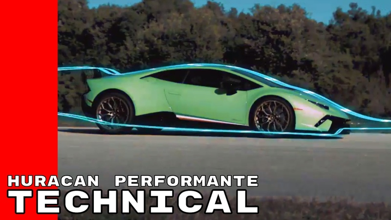 Lamborghini Huracan Performante Technical Information