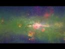 Floating Along the Milky Way in 4k60p ПУТЕШЕСТВИЕ ВДОЛЬ МЛЕЧНОГО ПУТИ