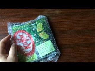 Посылка из Японии зеленый Kit Kat большой пакет, обзор