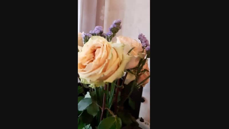 Цветы от Виолы на Д.Р. 2019 г..mp4