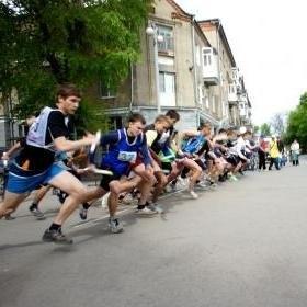 легкоатлетическая эстафета в Таганроге