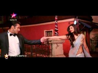 Superstar Salman and the gorgeous Daisy Shah in 'Jai Ho'!