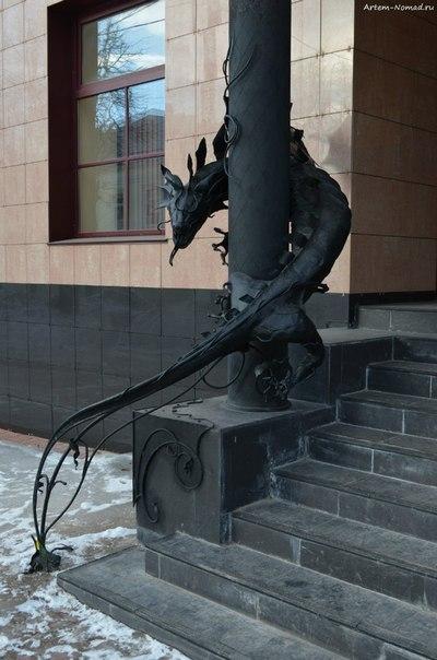 Драконы на страже банка