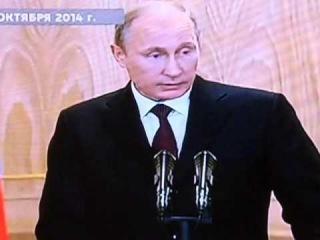 Италия.Милан.В.Путин встретился с П.Порошенко Президентом Украины.