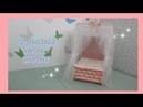 Cibinlikli Oyuncak Yatak Yapımı /KENDİN YAP DIY DOLL BED