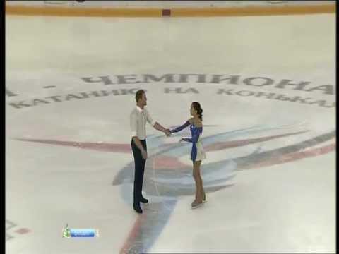 Vera BAZAROVA Yuri LARIONOV 2012 LP Russian Nationals
