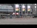 Танцующий фонтан.ТЦ Европейский
