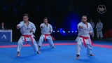 Morocco - Malaysia - Karate 1 Rabat 2018 - Final Kata Team Male
