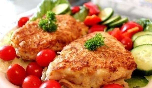 Рыбное филе в картофельном кляре