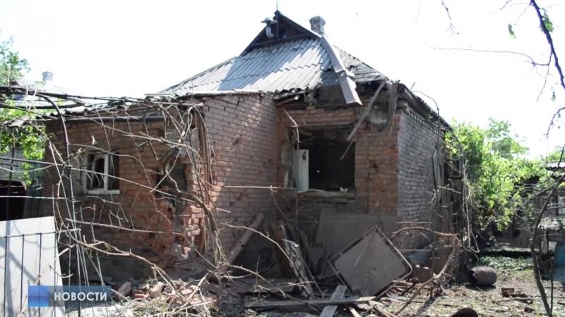 Удар по поселку Кирова Никитовского района Горловки. Есть жертвы