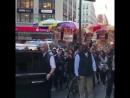 April 26 Gigi arriving at the TogetherTour at Macy's in New York City. TOMMYXGIGI