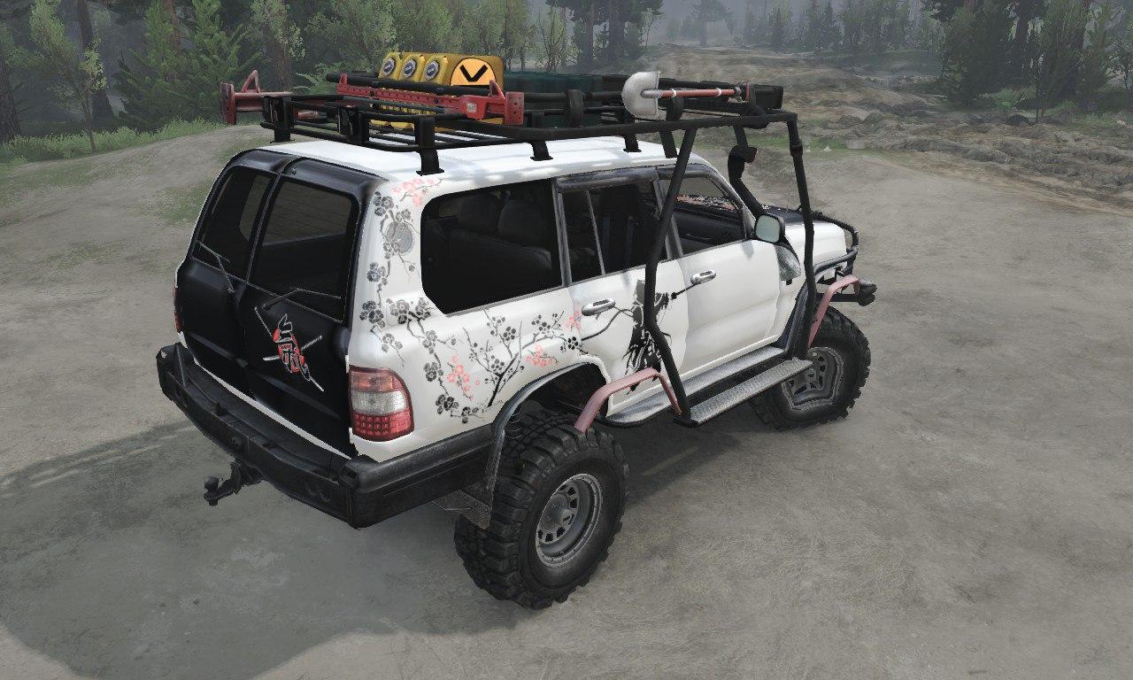Toyota Land Cruiser «Samuray» для 03.03.16 для Spintires - Скриншот 2
