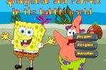 Спанч Боб и Патрик в мире пузырей игра для двоих