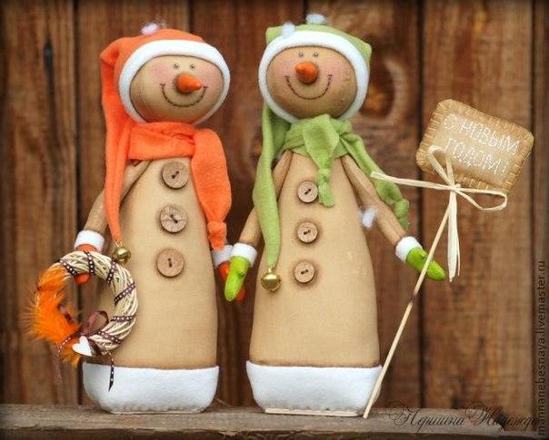 Ароматные снеговички своими руками! …