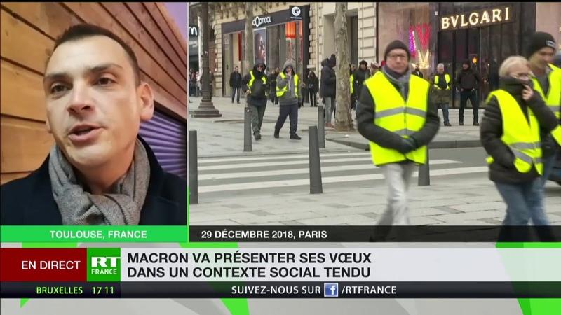 Vœux de Macron : «Les Gilets jaunes seront bien dans l'esprit de tous les Français»
